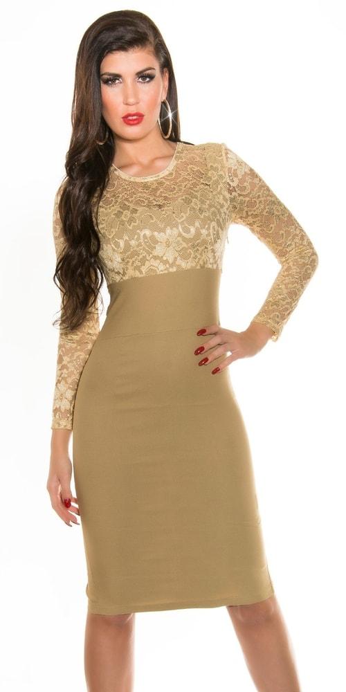 Puzdrové šaty do spoločnosti Koucla in-sat1030be