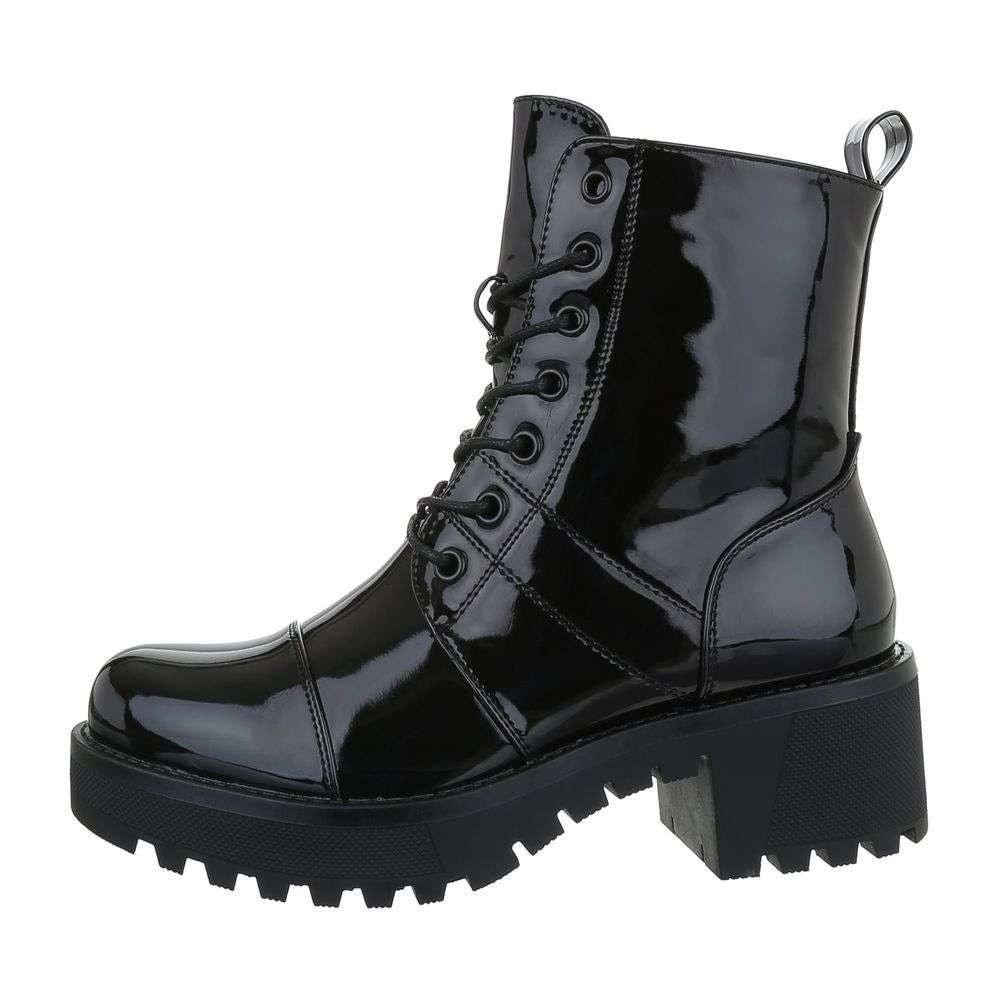 Čierne členkové topánky - 38 EU shd-okk1158bl