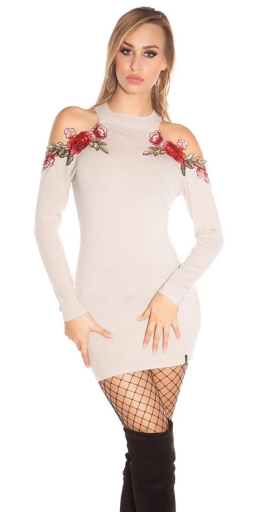 Úpletové dámske šaty Koucla in-sat1726be