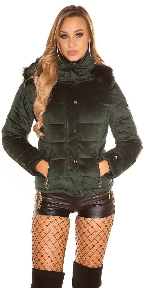 Zimná bunda s kapucňou Koucla in-bu1018ze