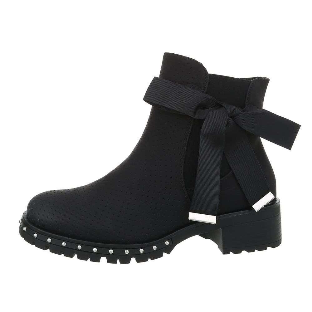 Damen Chelsea Boots - black - 37 EU shd-okk1030bb