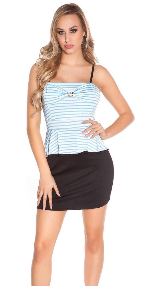 Letní mini šaty - S/M Koucla in-sat1784tu