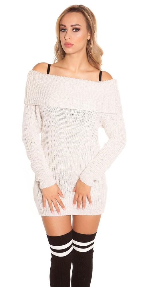 Elegantný pletený pulóver Koucla in-sv1515be