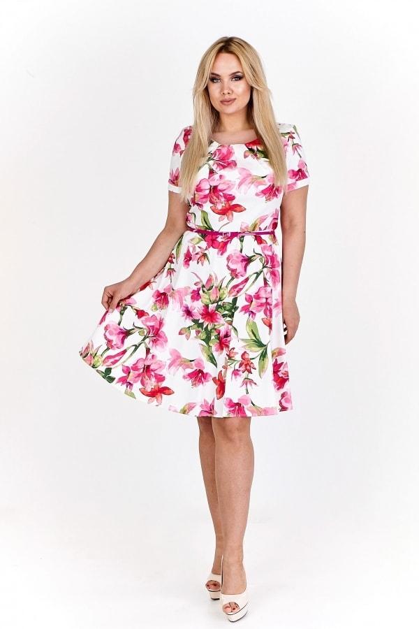 Dámské letní šaty plus size Ptakmoda pt-sat1496pi