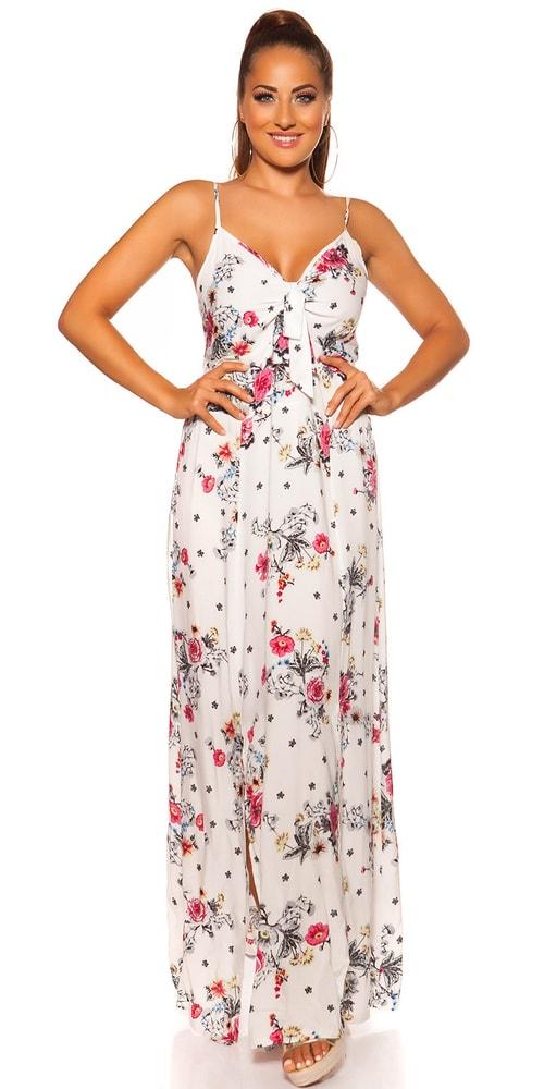Letní šaty na ramínka - M/L Koucla in-sat2064wh