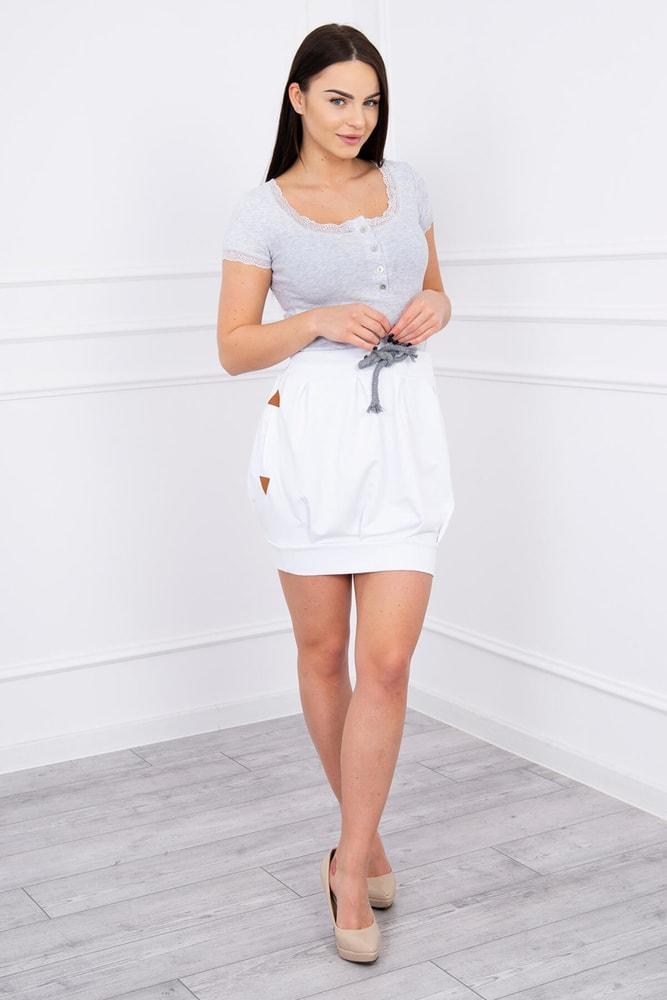 Dámska balónová sukňa Kesi ks-su8870wh