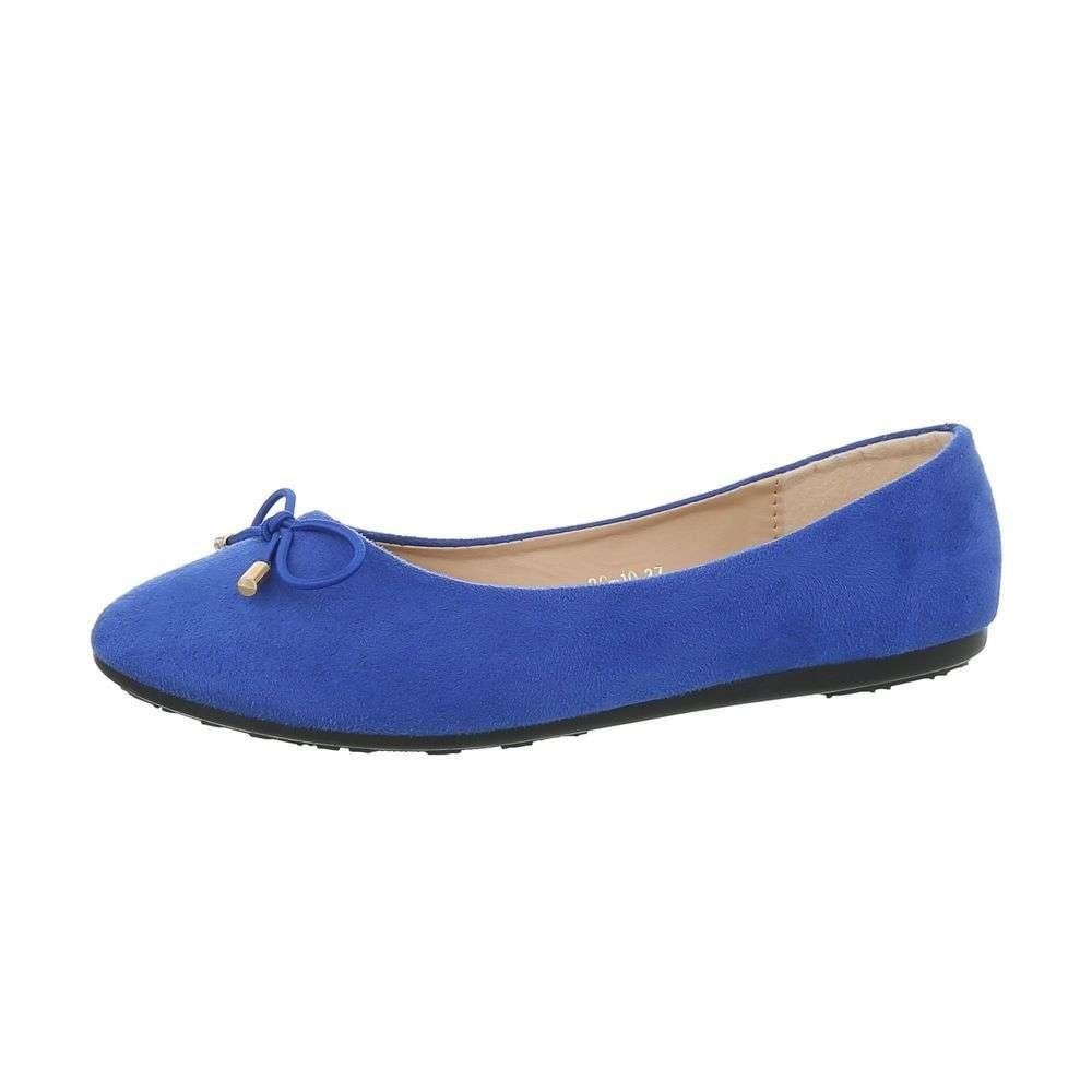 Dámské balerínky modré - 39 EU shd-oba1043mo