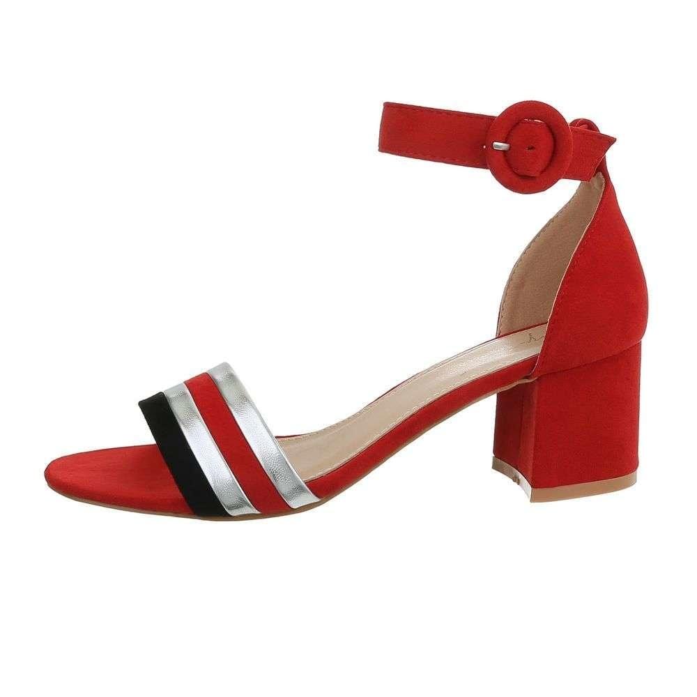 Letné červené sandále - 39 EU shd-osa1277re