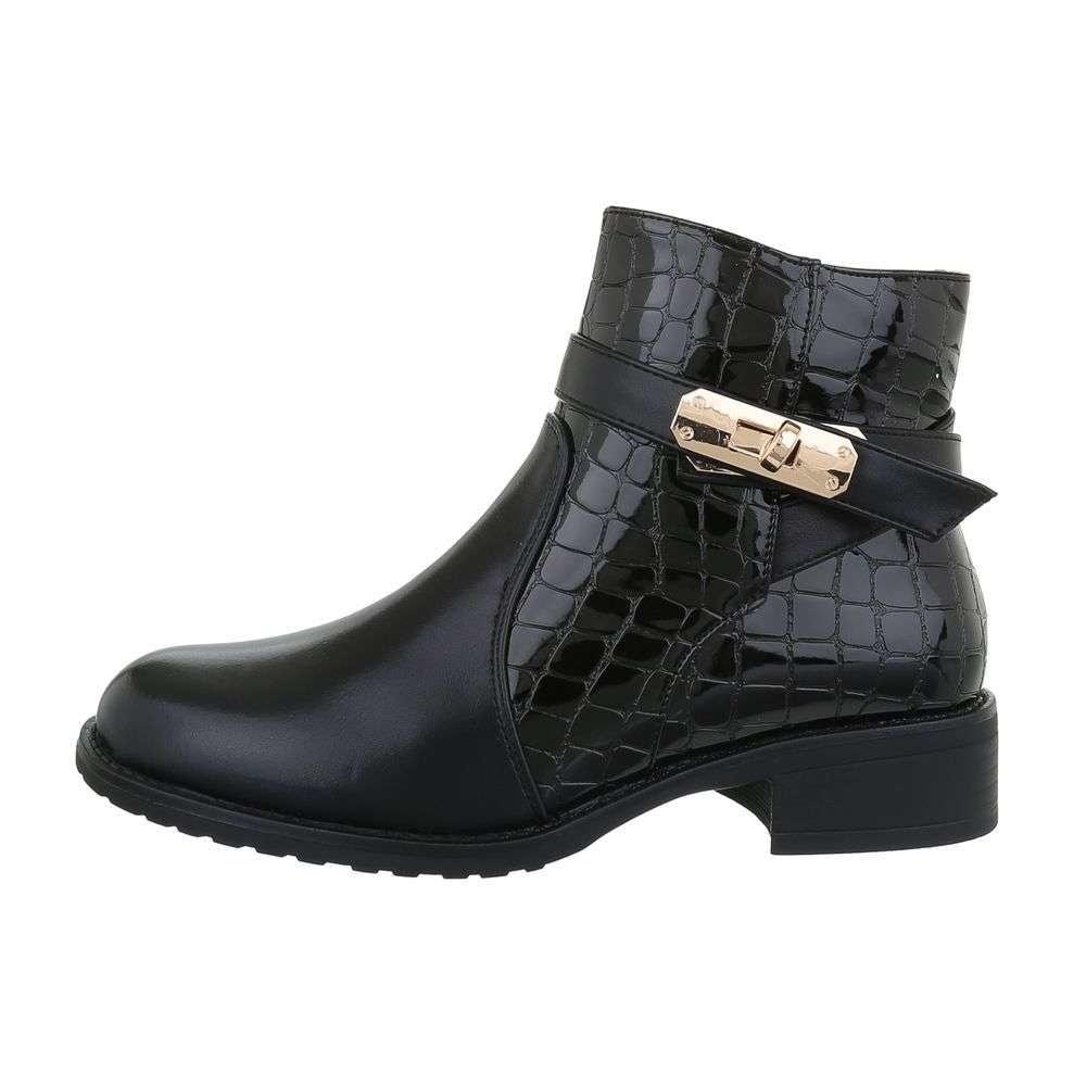 Kotníková dámská obuv EU shd-okk1198bl