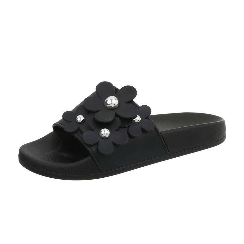 Dámske gumové papuče - 38 EU shd-opa1005bl