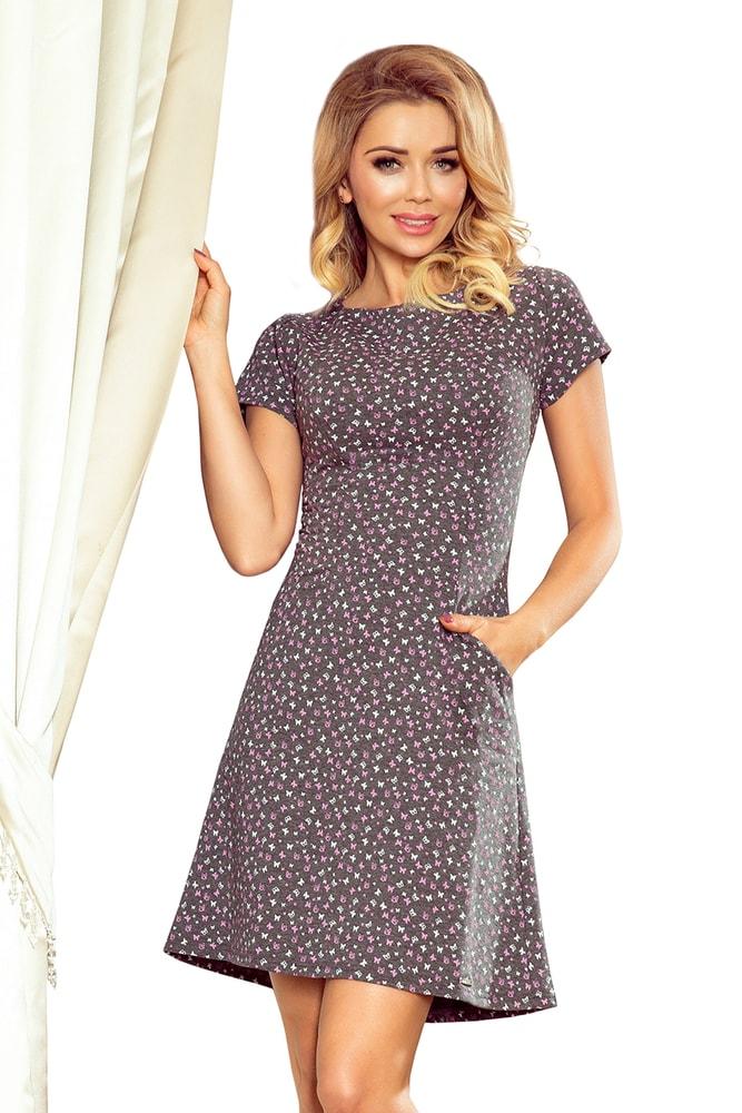 Letné elegantné šaty Numoco nm-sat252-1