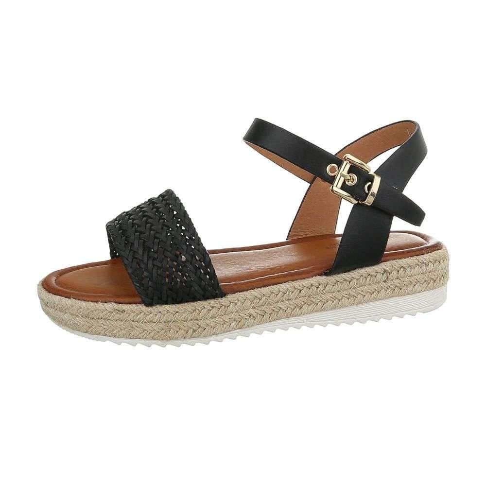 Dámske sandály čierne - 37 EU shd-osa1190bl