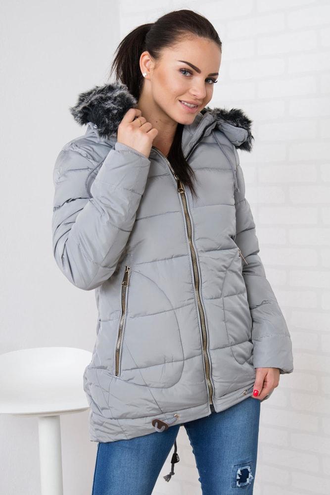 Zimná dámska bunda - XXL Kesi ks-bu058sgr