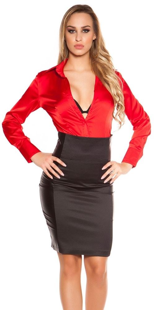 Dámska čierna sukňa - 36 Koucla in-su1174