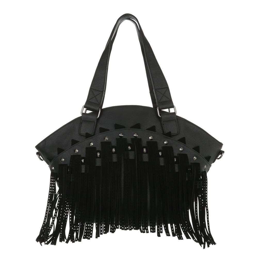 Černá velká kabelka sh-ta1095bl