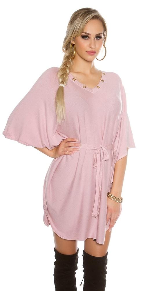 Dámske úpletové šaty Koucla in-sat1297spi