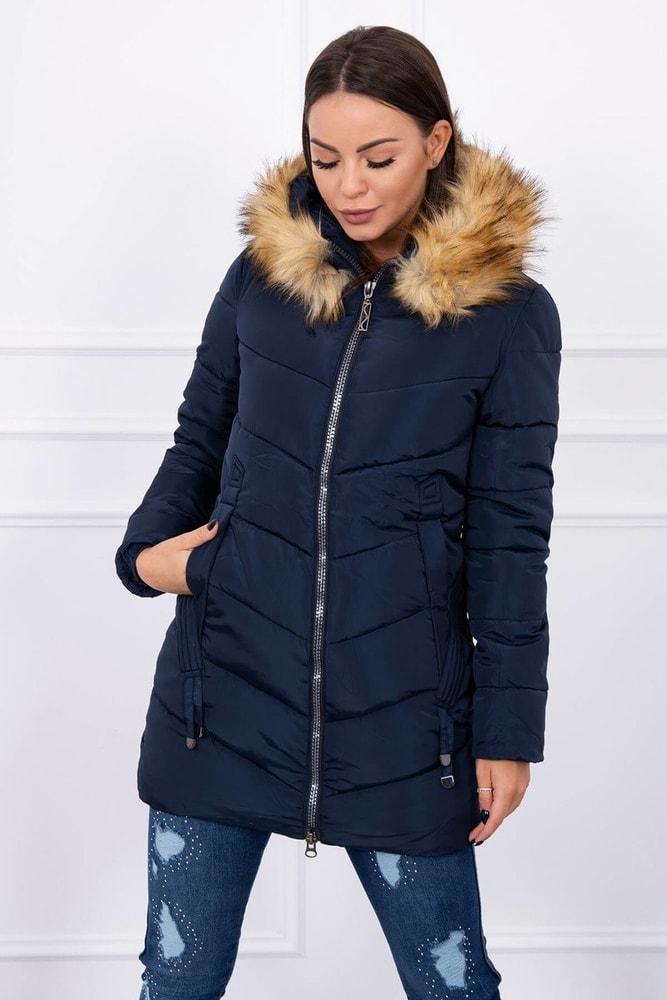 Dámska zimná bunda - L Kesi ks-bu89-01tm