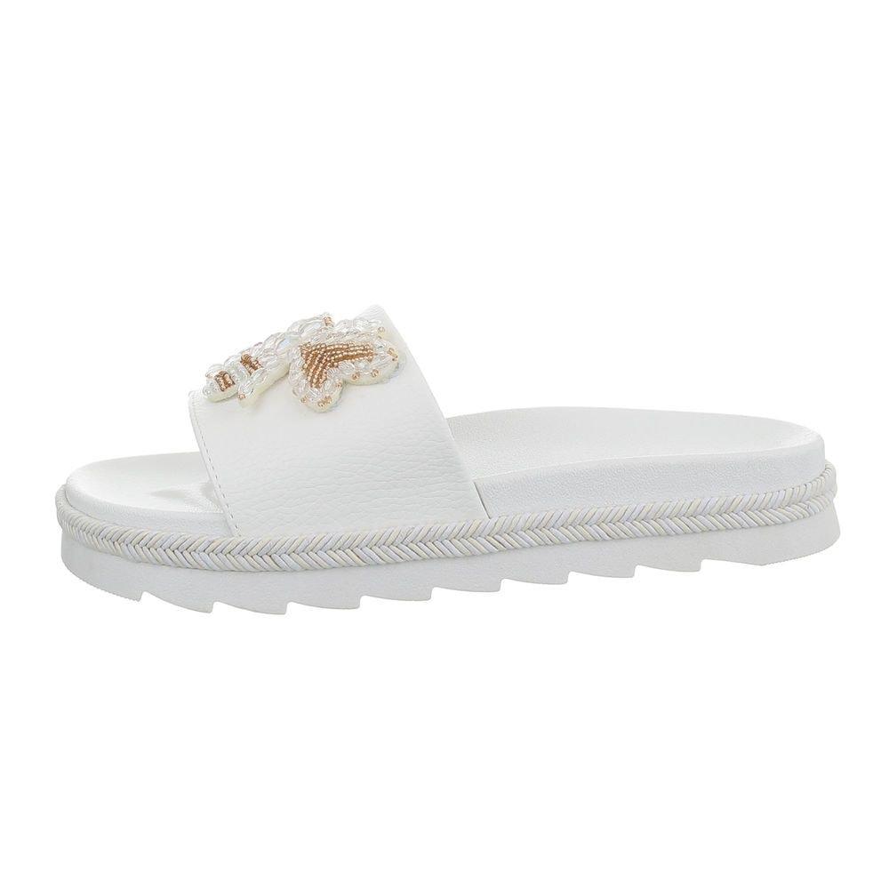 Bílé pantofle - 38 EU shd-opa1126wh