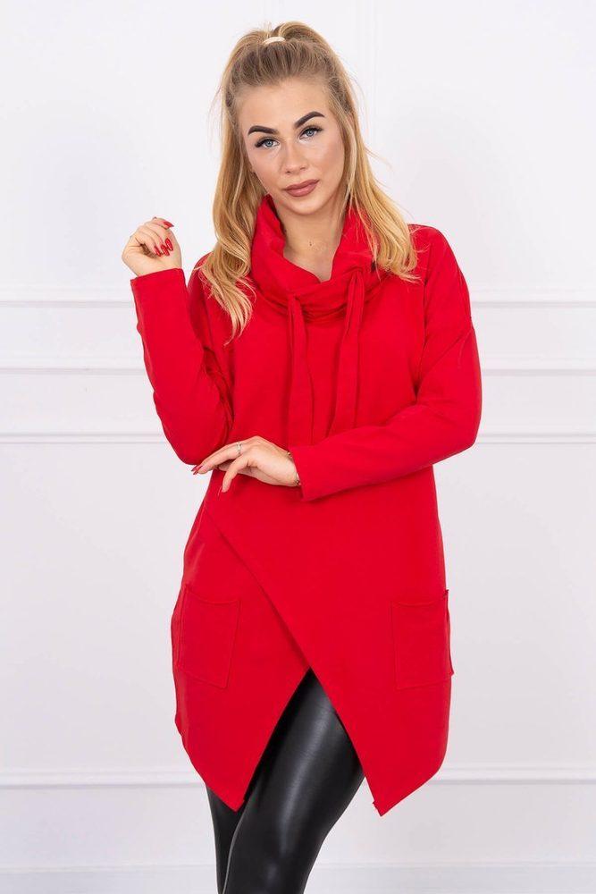Červená dámská tunika Kesi ks-tu0017re