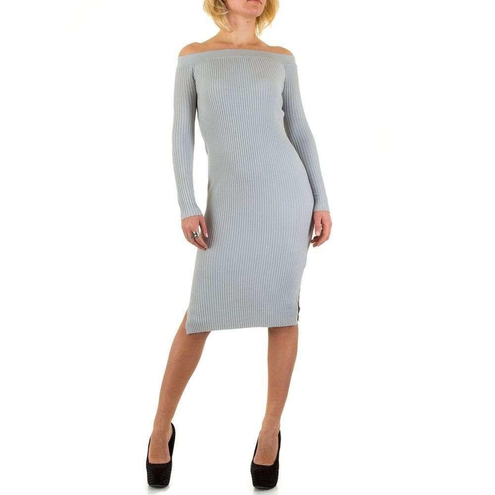 Úpletové šaty - M/L EU shd-sat1057gr