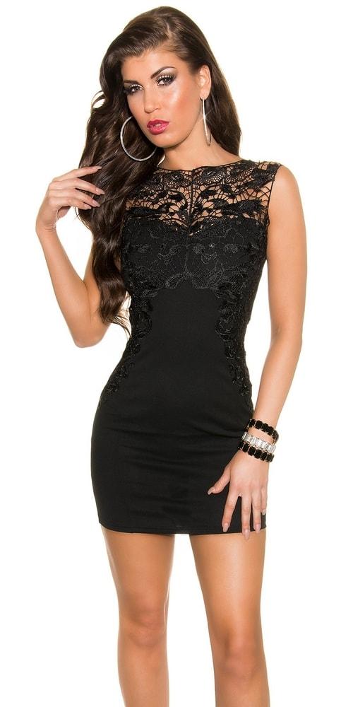 Krásne večerné šaty - 38 in-sat1168bl