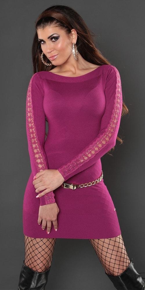 Šaty dámske úpletové Koucla in-sat1167vi