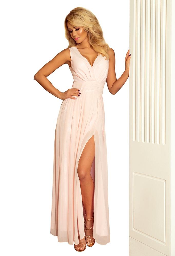 Spoločenské dlhé šaty - XL Numoco nm-sat166-4