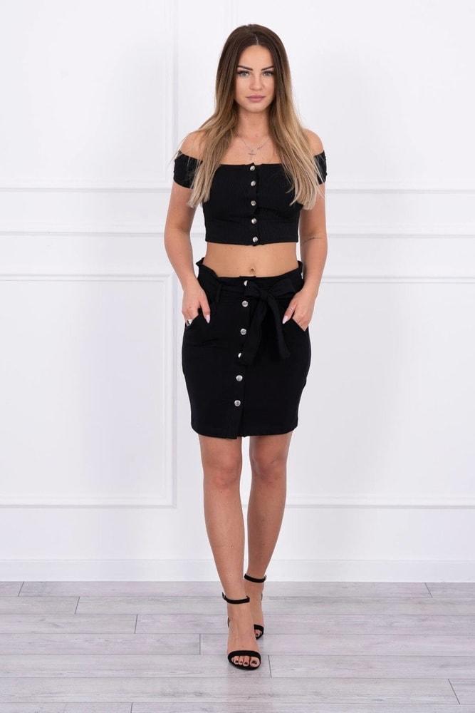 Čierna sukňa - S/M Kesi ks-su8981bl