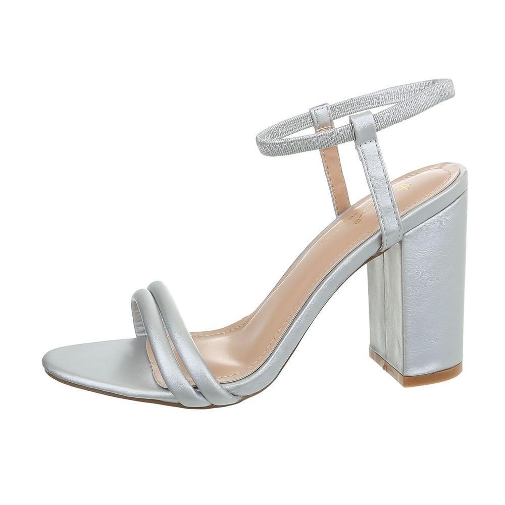Dámske sandále na podpätku - 38 EU shd-osa1237si