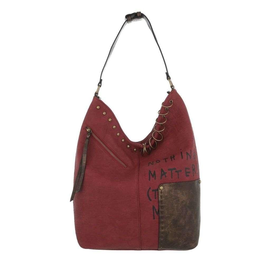 Dámska červená taška sh-ta1061re