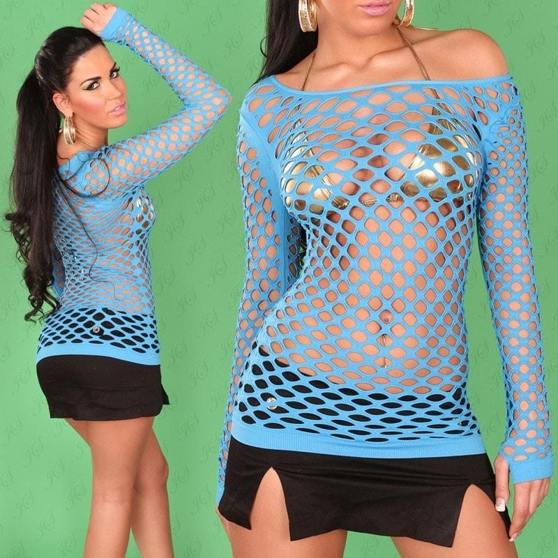 Sexy sieťované tričko Koucla in-sat1099tu
