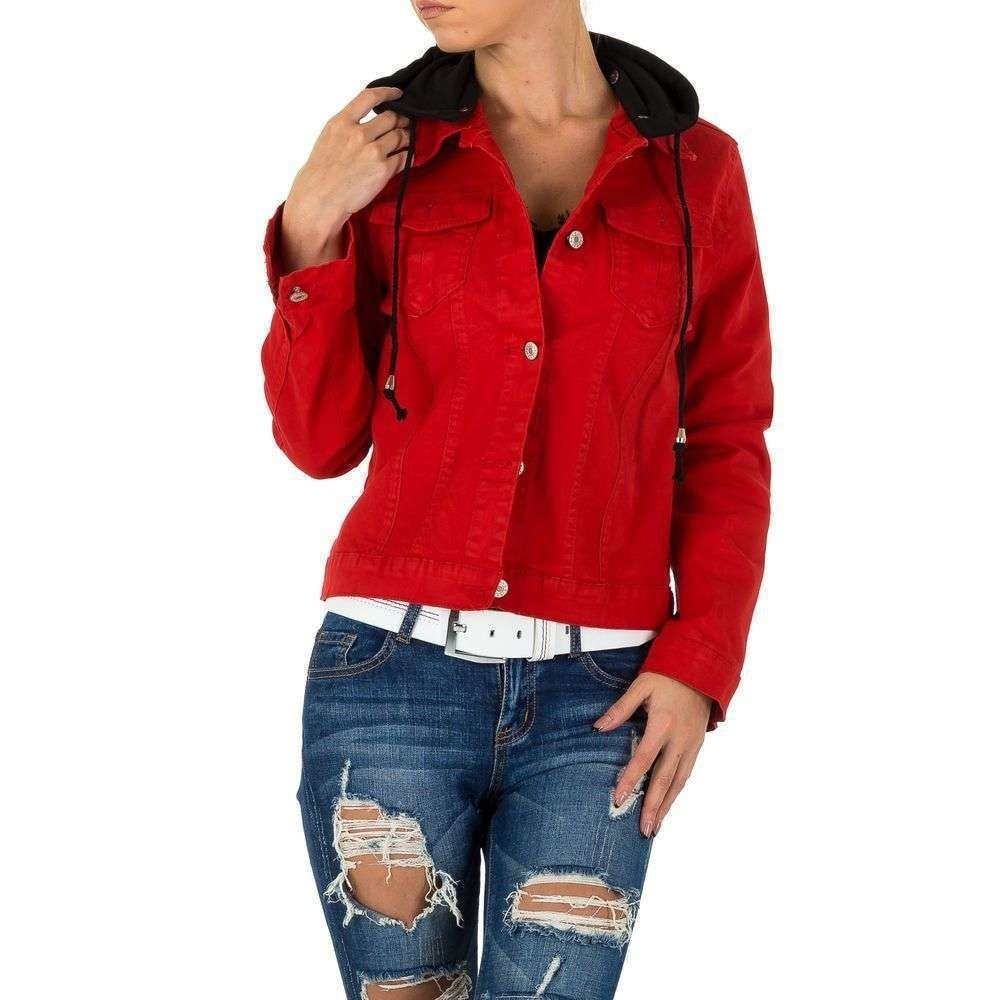 Dámská džínová bunda EU shd-bu1060re