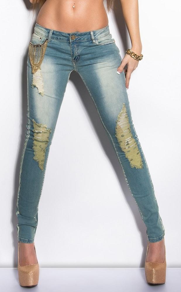 Dámske skinny jeans - 42 Koucla in-ri1133