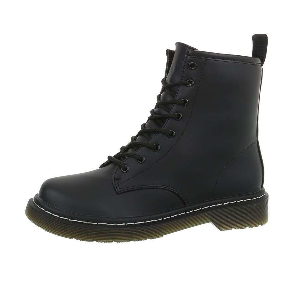 Čierne členkové topánky - 38 EU shd-okk1139bl