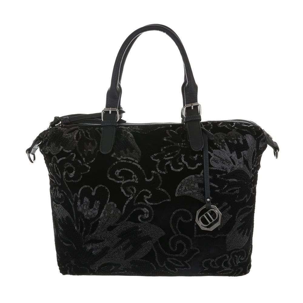 Elegantná veľká kabelka sh-ta1062bl