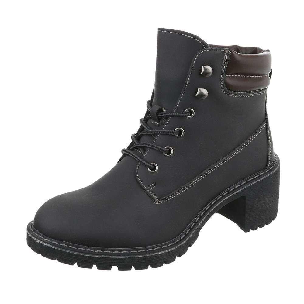 Dámske členkové topánky - 39 EU shd-okk1120bl