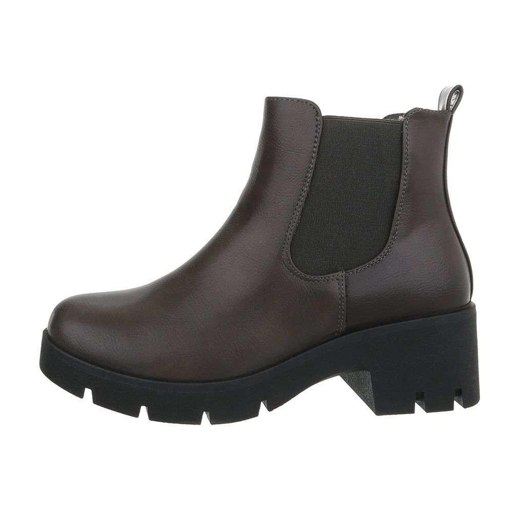 Dámske členkové topánky - 37 EU shd-okk1023gr