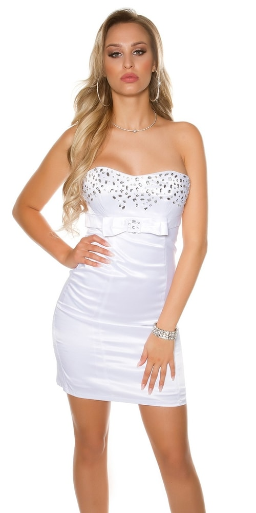 Spoločenské dámske šaty - 36 Koucla in-sat1063wh