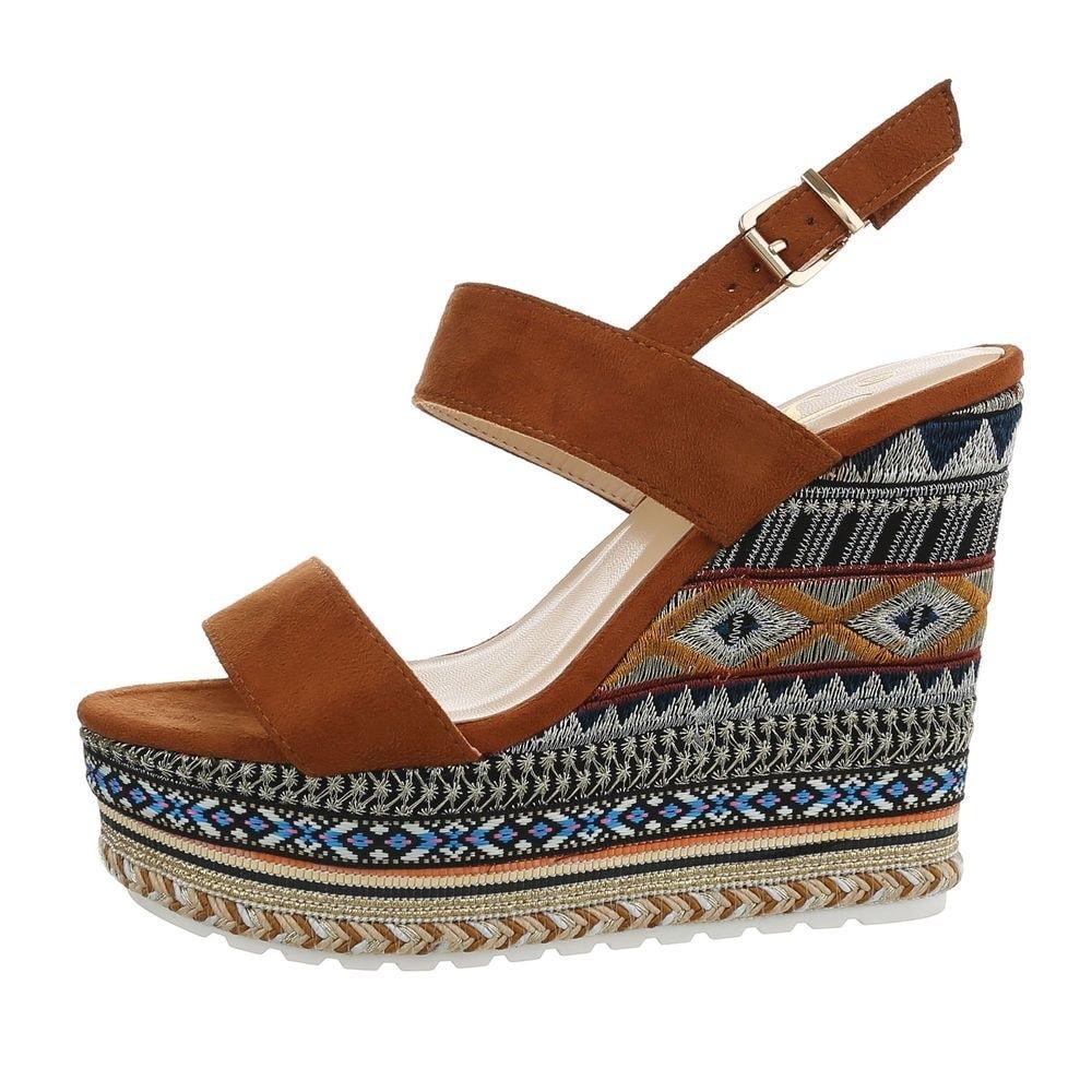 Vysoké dámske sandále - 39 EU shd-osa1341hn