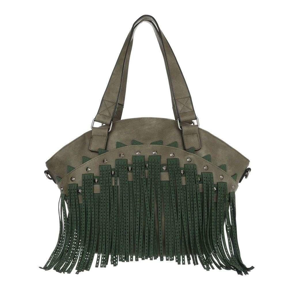 Zelená velká kabelka sh-ta1095ze