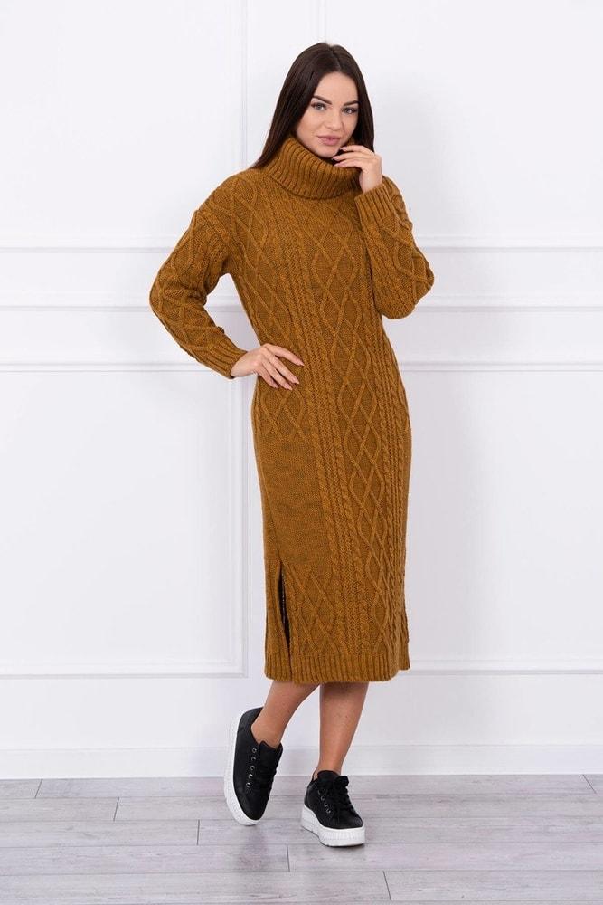 Dámske pletené šaty Kesi ks-saS8481hn