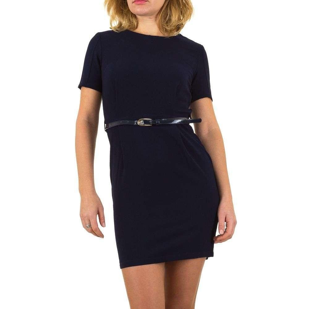 Dámske šaty s pásikom EU shd-sat1063tm