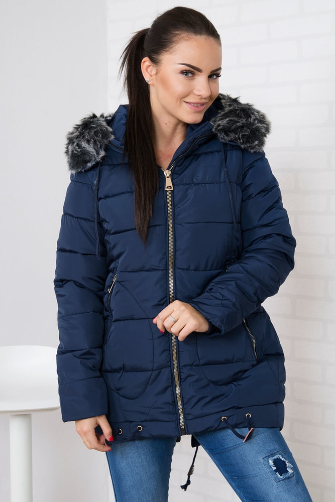 Dámska zimná bunda - S Kesi ks-bu058tmo