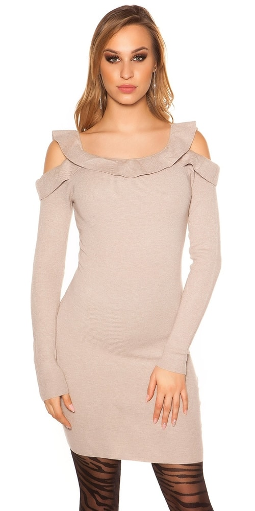 Úpletové šaty Koucla in-sat1214ca