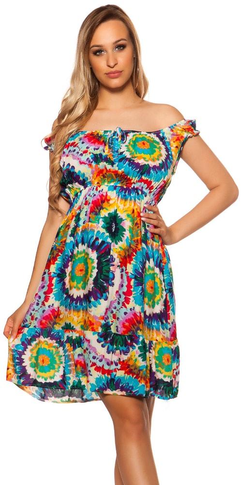 Letní krátké šaty Koucla in-sat2055tu