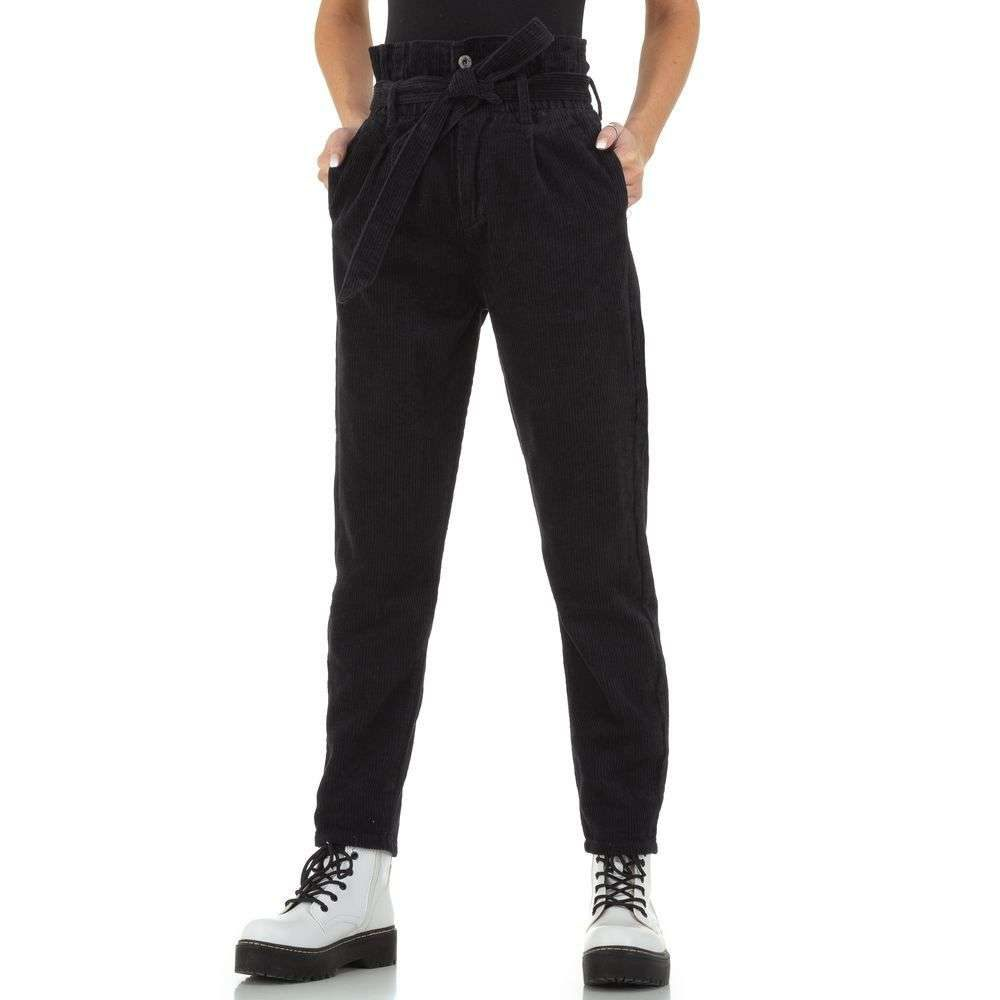 Menčestrové nohavice - XL/42 EU shd-ka1154bl