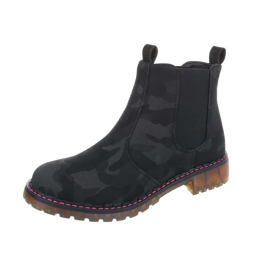 Dámske topánky členkové - 37 EU shd-okk1049bl