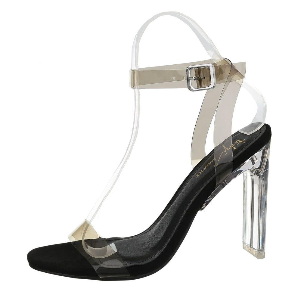 Letní transparentní sandálky - 39 EU shd-osa1242bl