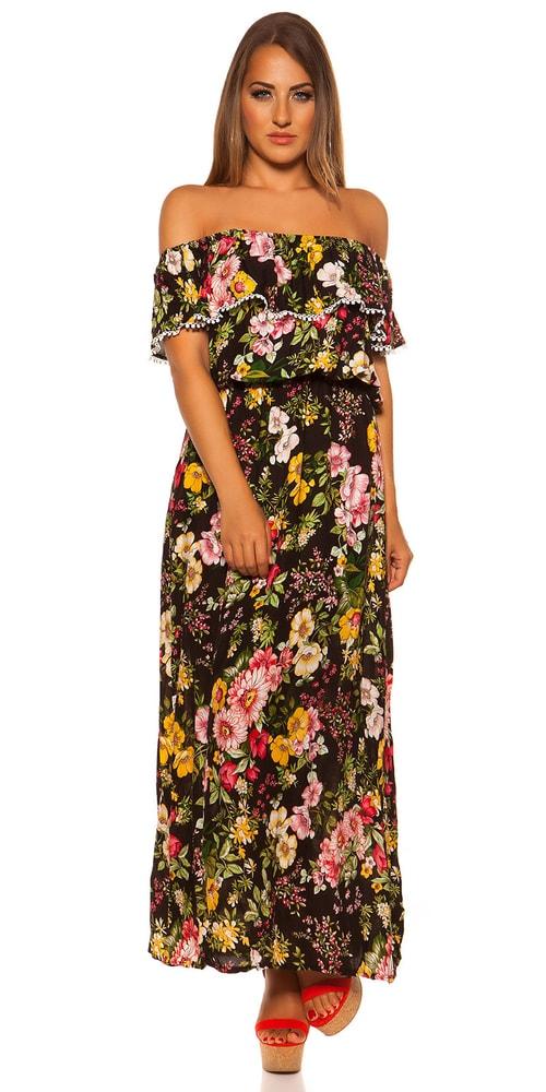 Letní dlouhé šaty Koucla in-sat2067bl