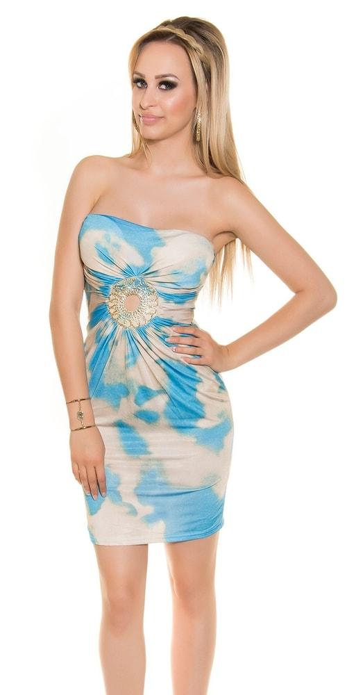 Dámske batikové mini šaty Koucla in-sat1323tu